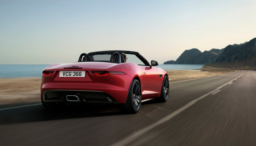 Jag F Type 22 My P300 R Dynamic Black Convertible Exterior 120421 002