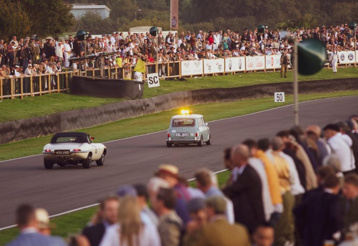 Mini Pace Car Contributed To The 60Th Anniversary Celebrations