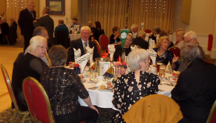 Staffordshire North Region Christmas Meal