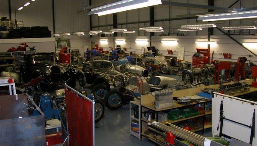 Bugatti Ickford Workshop