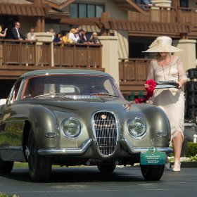 1954 Jaguar Xk120 Se By Pininfarina @ Pebble Beach Concours 2017 Classic Motor Cars Ph Wouter Melissen