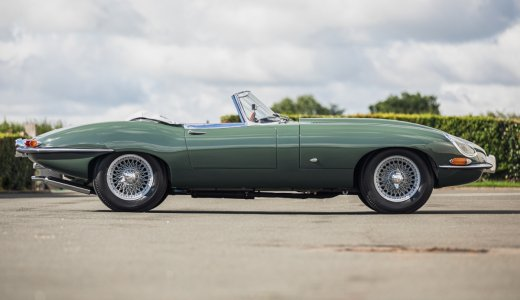 1961 Jaguar E Type Roadster Chassis Number8500621