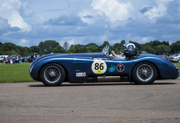 Adam Sykes In A C Type To Commemorate 70 Years Min