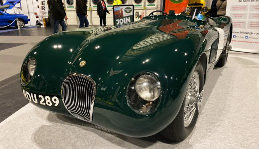 C Type Were Norman Dewis Jagaur Story Began