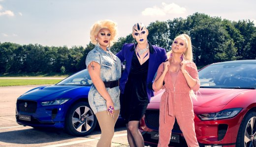 Courtney Act Vs The Vivienne Jag Race Behind The Scenes Images 10
