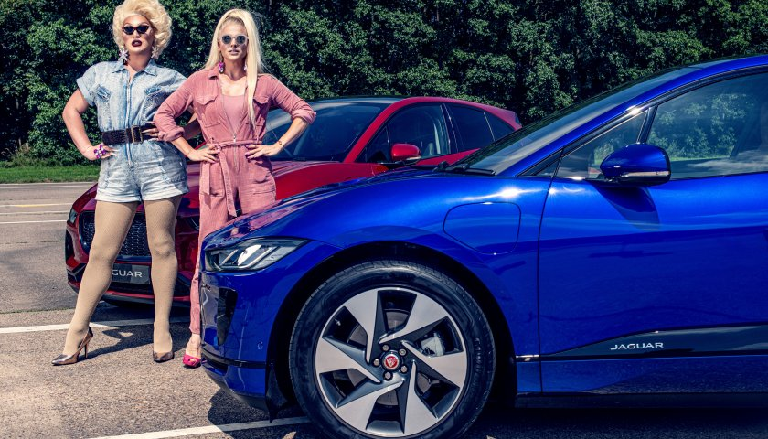 Courtney Act Vs The Vivienne Jag Race Behind The Scenes Images 15