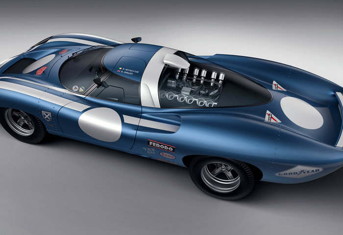 Ecurie Ecosse Lm69 Concept Rear April2018