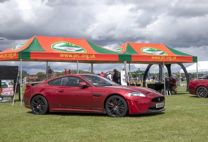 Jaguar Enthusiasts Club Stand Min