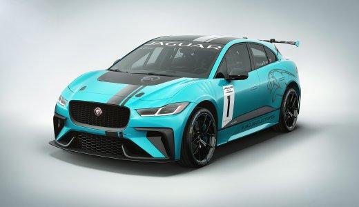 Jaguar I Pace E Trophy Racecar Studio 2