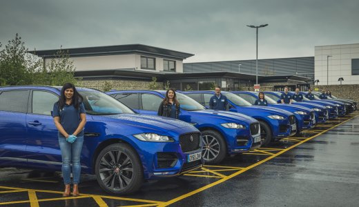 Jaguar Provides 15 Vehicles To Support The Uk'S ' Help Nhs Heroes' 2