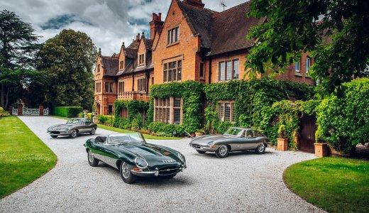 Jaguar E Types Pendine