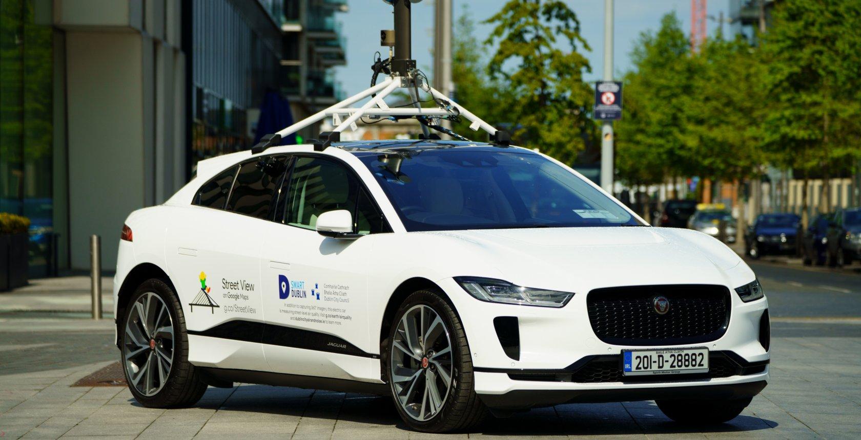 Jaguar I Pacex Google Street2