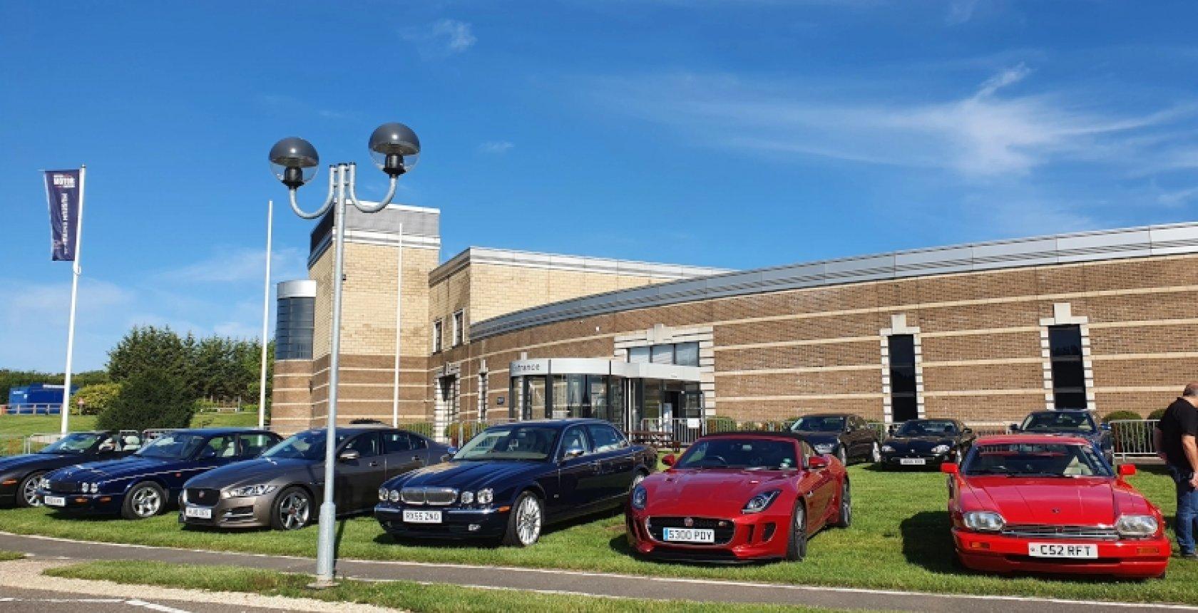 Jaguars At Gaydon