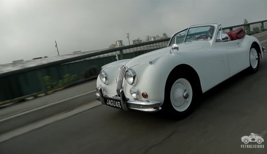 One Man And His  Xk140