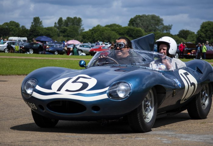 One Of 6 Long Nosed Ecurie Ecosse D Types Commemorating Jaguars First Le Mans Win Min