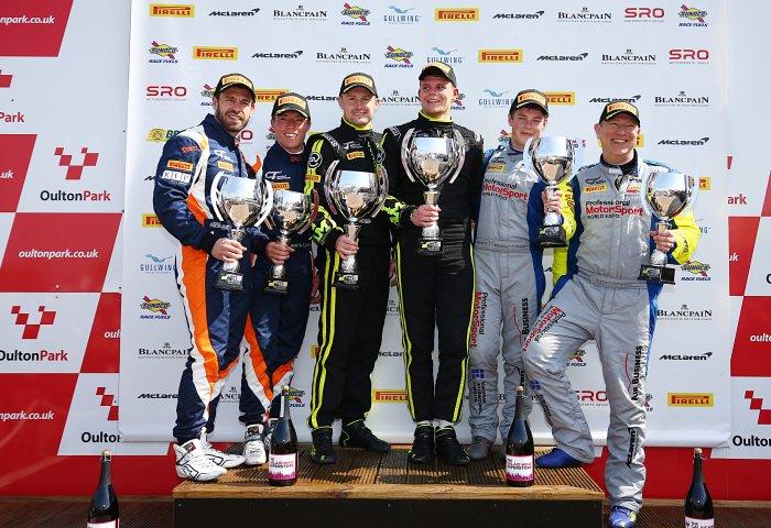 Oulton Race1 Gt4 Pa Podium 1