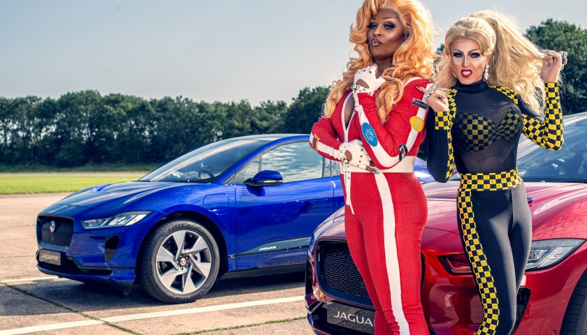 Peppermint Vs Miss Tickle Jag Race Behind The Scenes Images 12