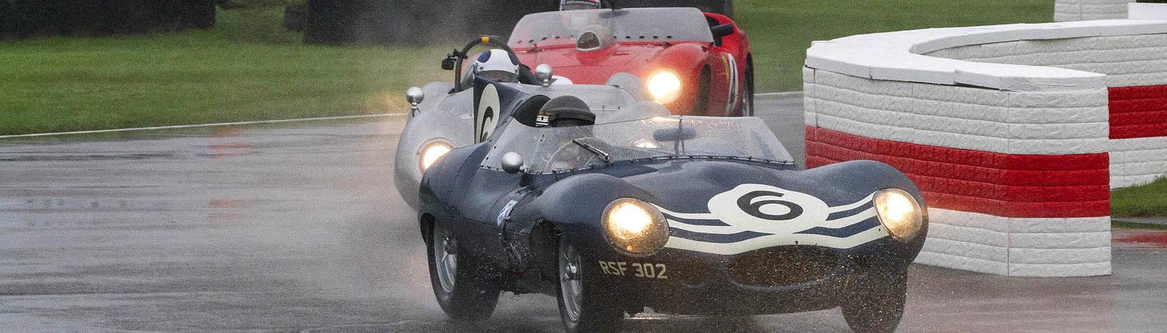 St Christian Glasel Ahead Of Ferrari Dino Rg