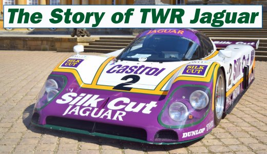 Twr Jaguar Xjr9 The Genuine Car That Won Le Mans In 1988 With Andy Wallace Jan Lammers And Johnny Dumfries At The Wheel 3 Copy