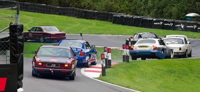 Cadwell Park Adam Powderham Pursues The Mid Field Pack