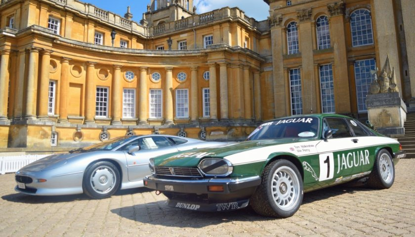 Thumbnail Twr Celebration With The European Touring Car Jaguar Xjs And Xj220 Road Car