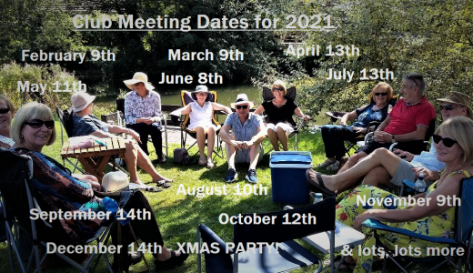 Club Meet Dates 2021