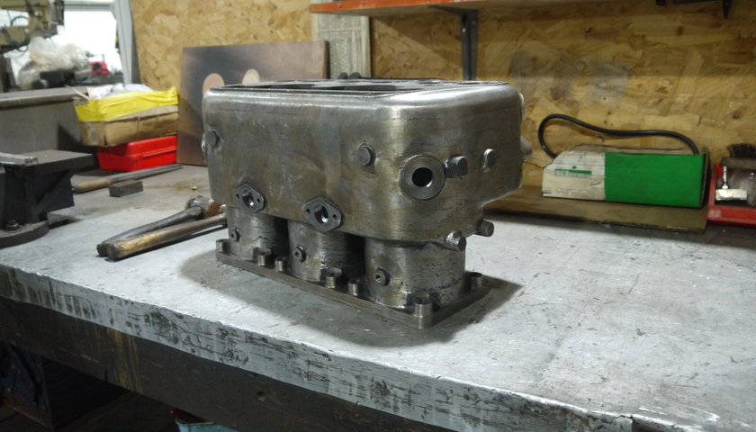 Ghost Roller Engine Block Fiennes