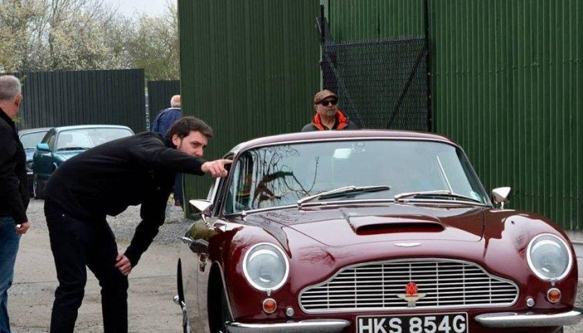 Aston Arriving