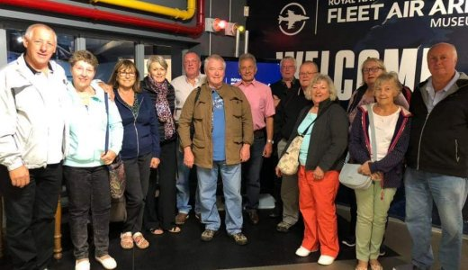 Staffordshire North Members At The Fleet Air Arm Museum