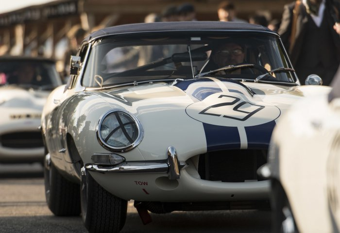 An E Type Heads To The Assembly Area Cg