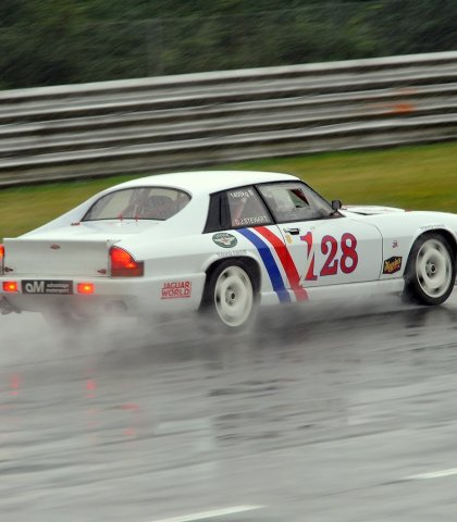 Daniel Stewart Came Second Overall In Race Two Despite Spinning In The Wet