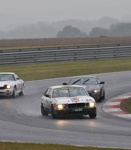 Mike Seabourne Holding Off Tom Lenthall And Daniel Stewart