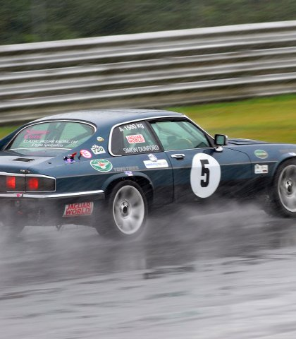 Simone Ford Braking In The Wet For Riches Corner