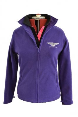 Purple Fleece With Bp Polo