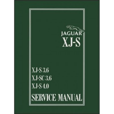 Xjs Service Manual