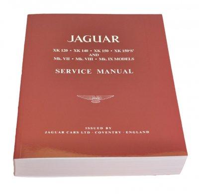 Xk140 Service Manual