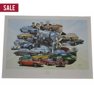 Sale Jaguar Xk60 Print