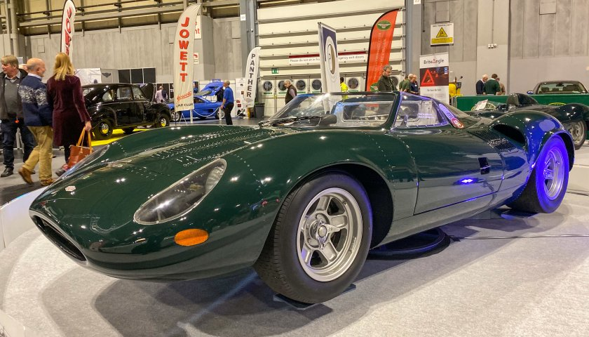Xj13 The Car That Norman Was Lucky To Climb Out Of