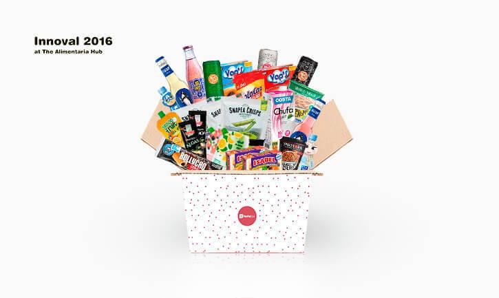 Selección Alimentaria Hub en TestaBox