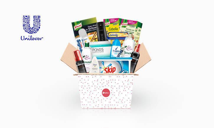 Selección Unilever en TestaBox