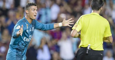 Cristiano Ronaldo: Spanish FA uphold Real Madrid star's ban after Barcelona dismissal
