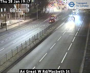 A4 Great West Road/Macbeth Street, Hammersmith