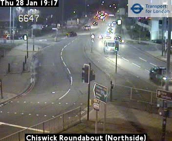 Chiswick Roundabout - north side