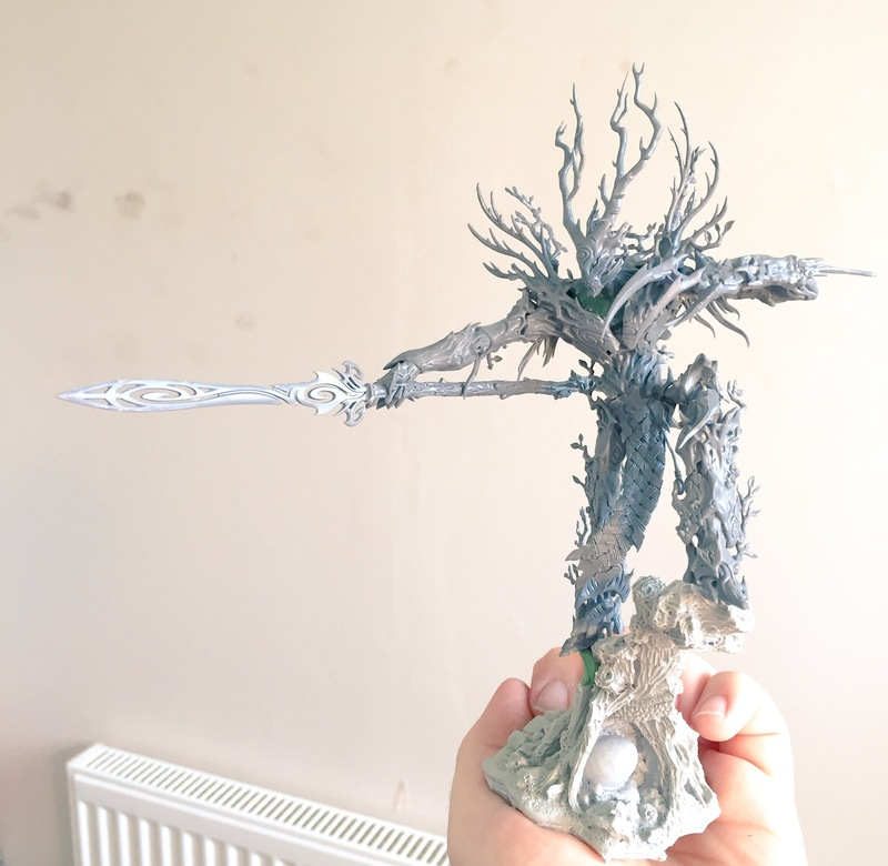 Sylvaneth Revevant themed army - Painting and Modelling