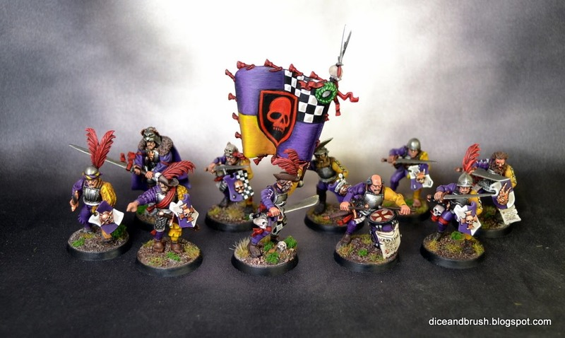 Free Guild Guard with Swords and Shield