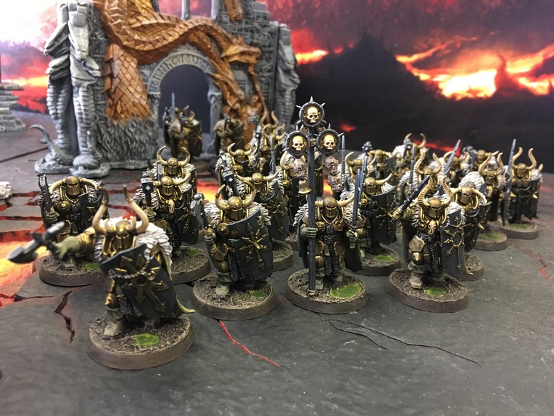 Chaos Warriors of Nurgle