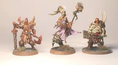 First models painted for Warhammer Quest
