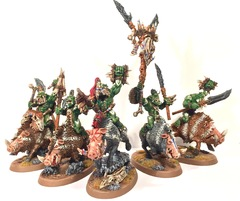 Savage Orruk Boarboys