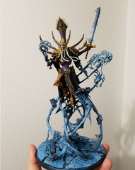 Nagash & Sculpted Base