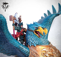 Freeguild General on Griffon (Close Up)